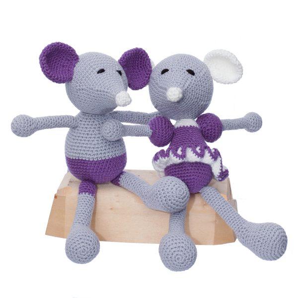 șoricei colecția baby, pentru copii mici si bebelusi jucării croșetate manual