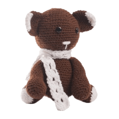 Ursuletul Bruno, Jucărie Croșetată Manual