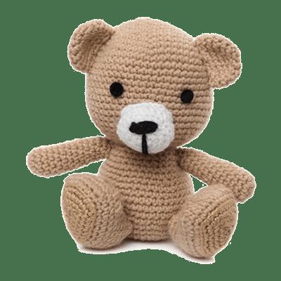 Ursulețul Cody Bej, Jucărie Croșetată Manual